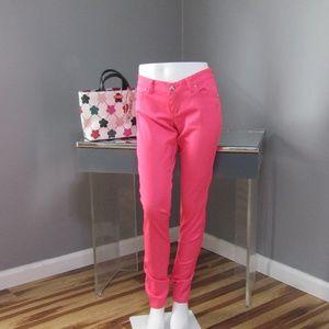 Tripp NYC Daang Goodman Hot Pink Skinny Jeans Sz 7